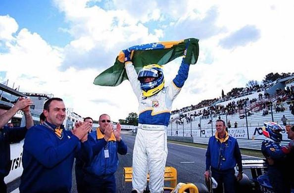 Фелипе Масса, победитель Формулы 3000, 2001 год