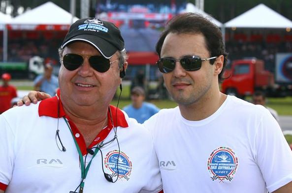 Фелипе Масса, со своим отцом Лиз Антонио Масса, 2010 год