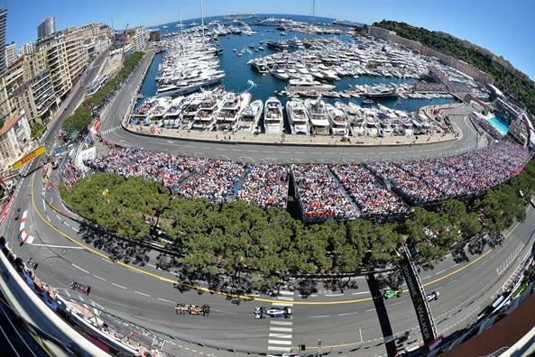 Гран-при Монако, сводная статистика.