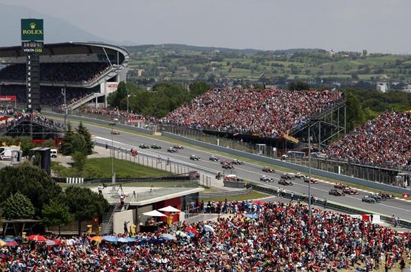 Сводная статистика.Гран-при Испании.