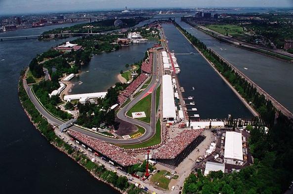 Гран-при Канады, сводная статистика.Автодром Жиля Вильнёва в Канаде