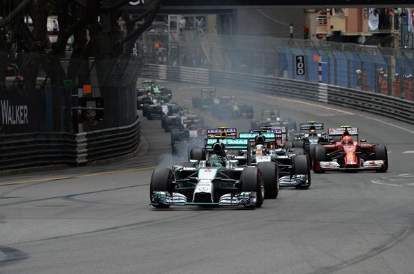 Гран-при Монако. Росберг, повторяет  прошлогоднее достижение.