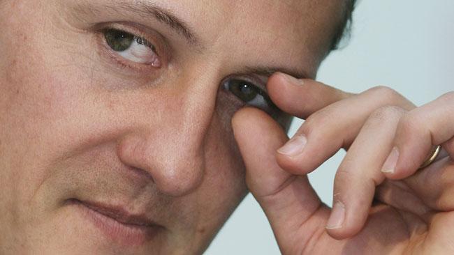 Михаэль Шумахер, украдены документы