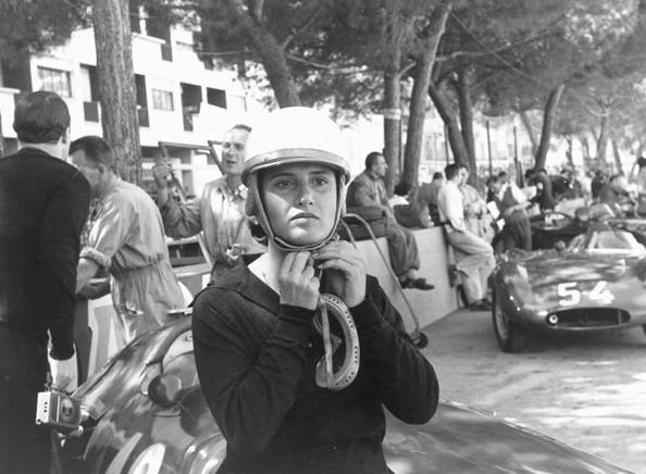 Мария Тереза де Филиппис 1958 год. Гран-при Монте-Карло