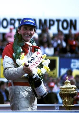 Победитель гран-при Великобритании 1981,Джони Уотсон