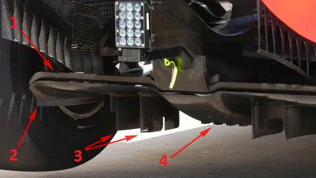 Ред Булл RB10 новый задний диффузор на г-п Венгрии 2014