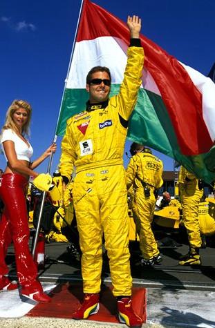 Жолт Баумгартнер, венгерский пилот команды Джордан