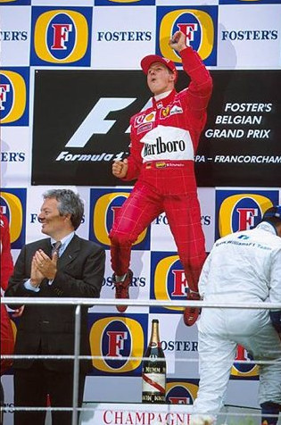 Гран-при Бельгии.Сводная статистика.Михаэль Шумахер,Бельгия,сентябрь 2002 года