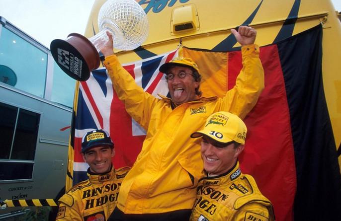 Хилл вынуждает Джордан порадоваться дважды,Спа-Франкошам,1998 год