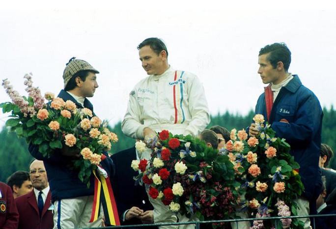 Макларен, открывает счёт своей команды, Спа-Франкошам, 1968 год