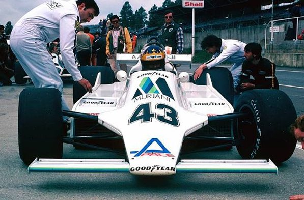 Уильямс 1980 год