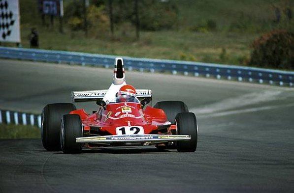 Феррари 1975-1977. Ники Лауда Феррари 312Т, Ники выигрывает своё первый чемпионский титул