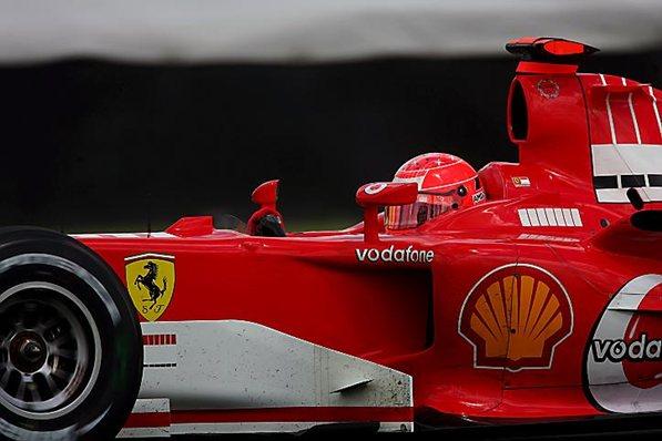 Феррари 2005, Михаэль Шумахер на Феррари F2005, гран-при США