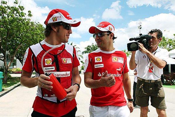 Феррари 2010, Фернадо Алонсо и Фелипе Масса, гран-при Малайзии