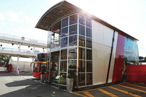 Команда Манор Маруся (Marussia).Моторхоум команды Manor Marussia F1 Team