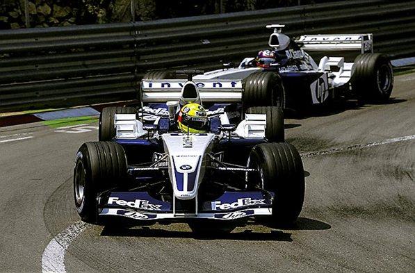 Уильямс 2003 год