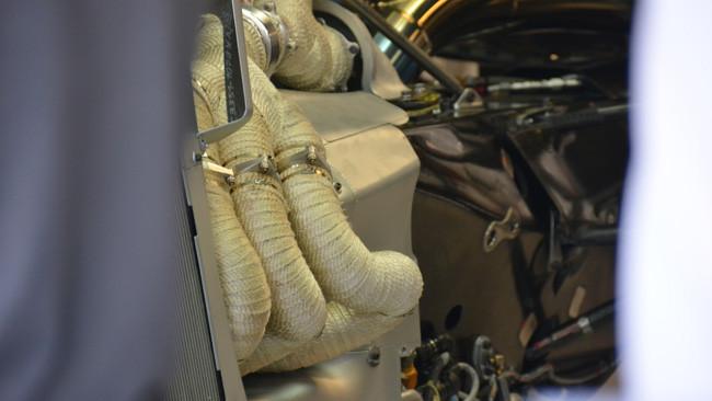 Заубер C33, теплоизоляция выхлопных труб в Италии 2014