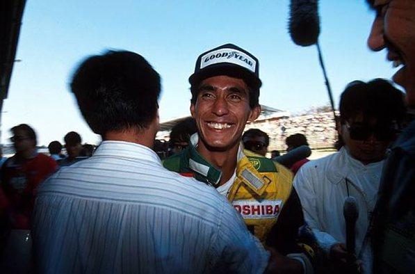 Агури Сузуки, 3-е место на гран-при Японии, Сузука, 21 октября 1990 года