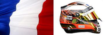 Жюль Бьянки, флаг-шлем