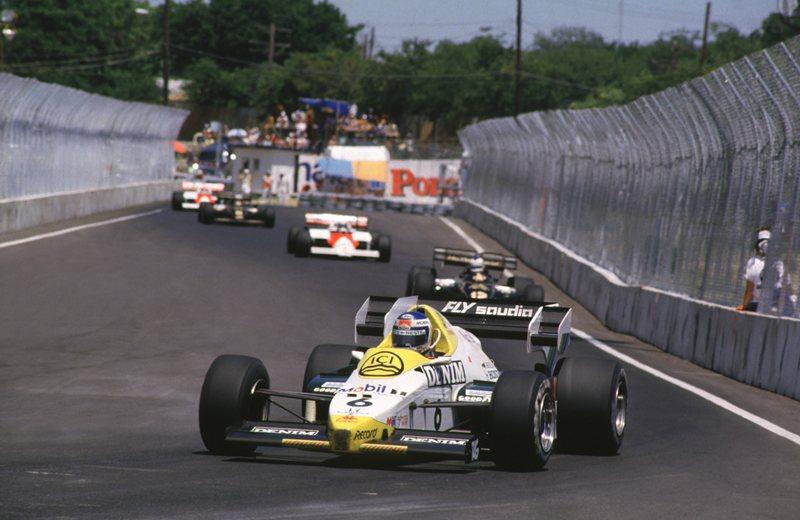 Даллас, одна гонка, 1984 год
