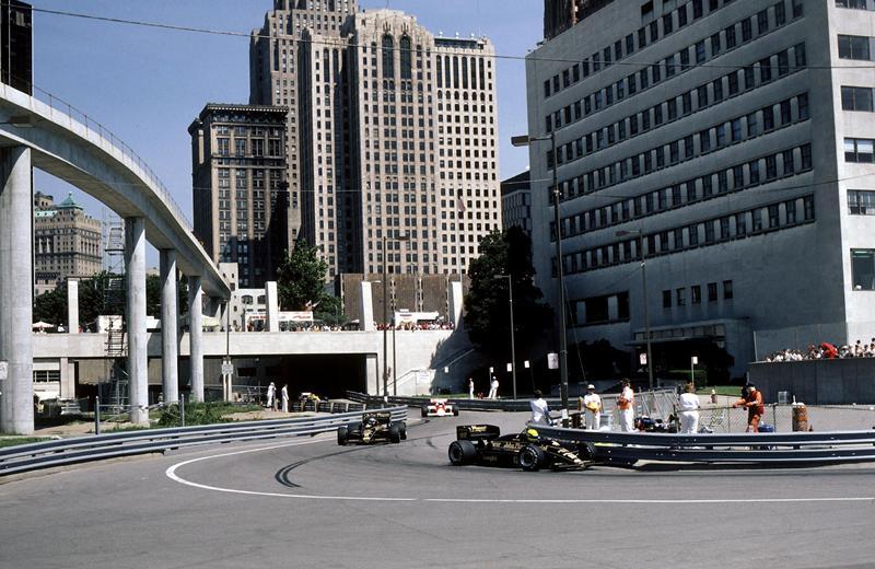 Детройт, семь гонок, 1982-1988 годы