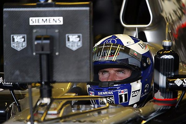 Дэвид Култхард, МР4-19В, гран-при Великобритании, Сильверстоун, июль 2004