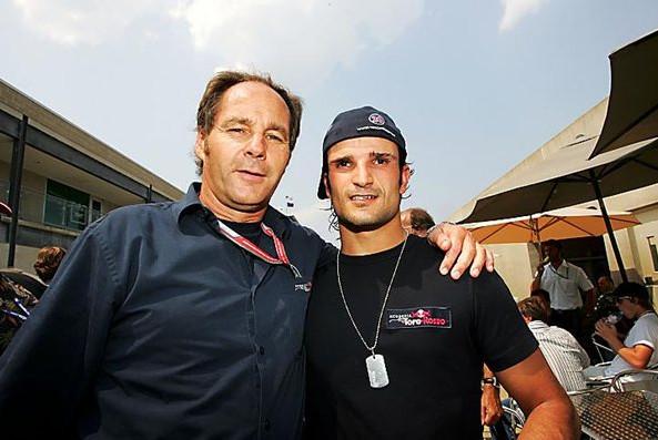 Герхард Бергер и Витантонио Льюцци, Гран-при США, Индианаполис 2006. Торо Россо 2007