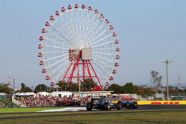 Гран-при Японии.Сводная статистика