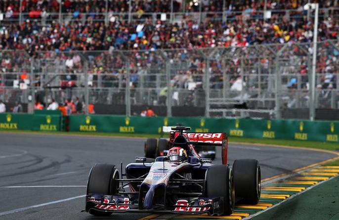 Квят становится рекордсменом Формулы 1, во время своего дебюта в Австралии в 2014 году