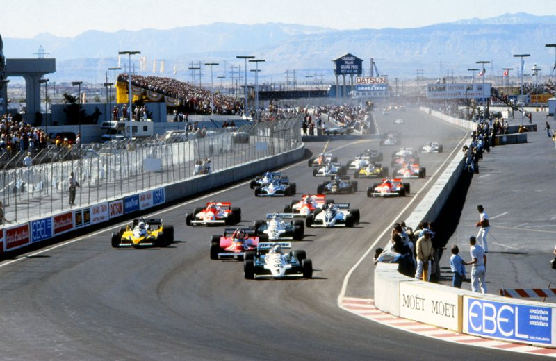 Лас-Вегас, две гонки, 1981-1982 годы