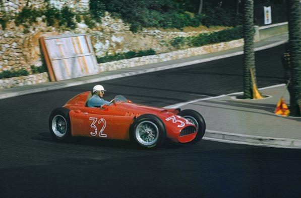 Луи Широн, Лянча Д50, 6-е место на гран-при Монако, 19-22 мая 1955