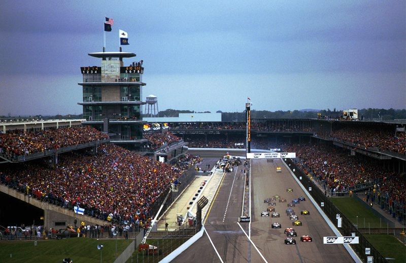 Моменты истории.Гран-при США.Индианаполис (1950-1960)