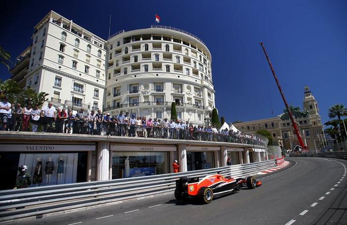Великолепный Бьянки заработал первые очки для российской команды на гран-при Монако 2014.