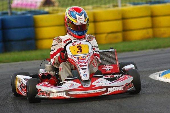 Жан-Эрик Вернь,Содикарт 2006, Мировой чемпионат ФИА по картингу,Франция