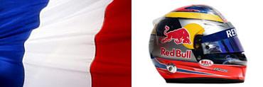 Жан-Эрик Вернь,шлем,флаг