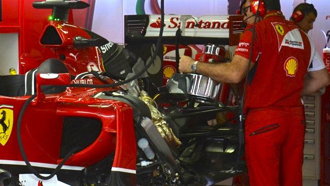 Феррари F14T, проблемы с турбо