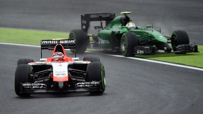 Предварительный список команд Формулы 1 на сезон 2015 года