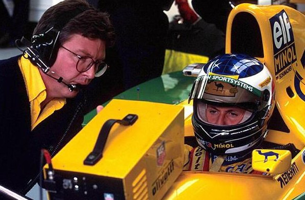 Шумахер, Бенеттон 1992.