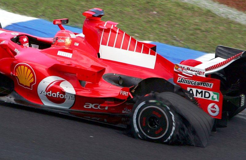 Шумахер уходит, героическая гонка в Интерлагосе, 2006 год.