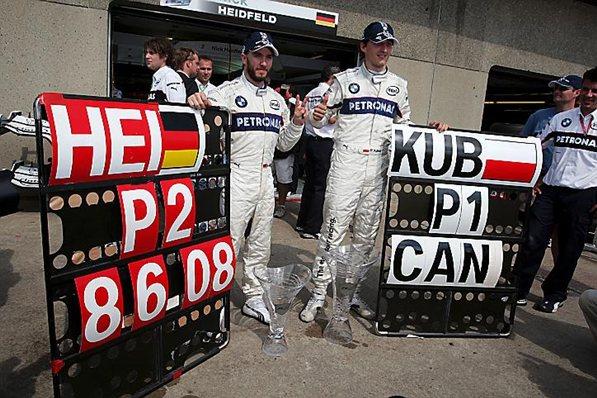 Заубер 2008, БМВ-Заубер F1, Роберт Кубица и Ник Хайтфильд