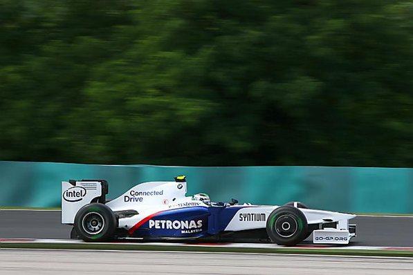 Заубер 2009, БМВ-Заубер F1.09, Ник Хайтфильд,Венгрия