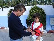 Карлос и его отец 2005 год