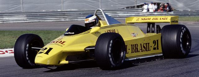 Первый гоночный автомобиль конструкции Ньюи в Ф1, Фиттипальди F8, 1980 год