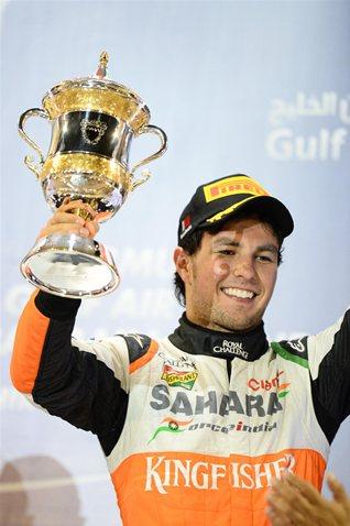 Третье место Серхио Переса в Бахрейне.