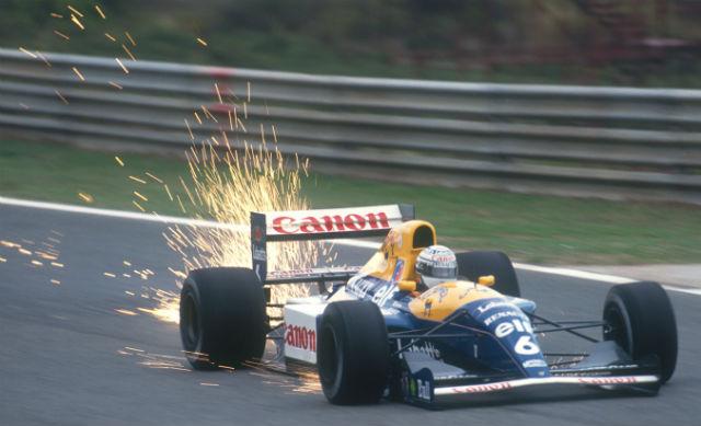 Уильямс FW14, 1992 год