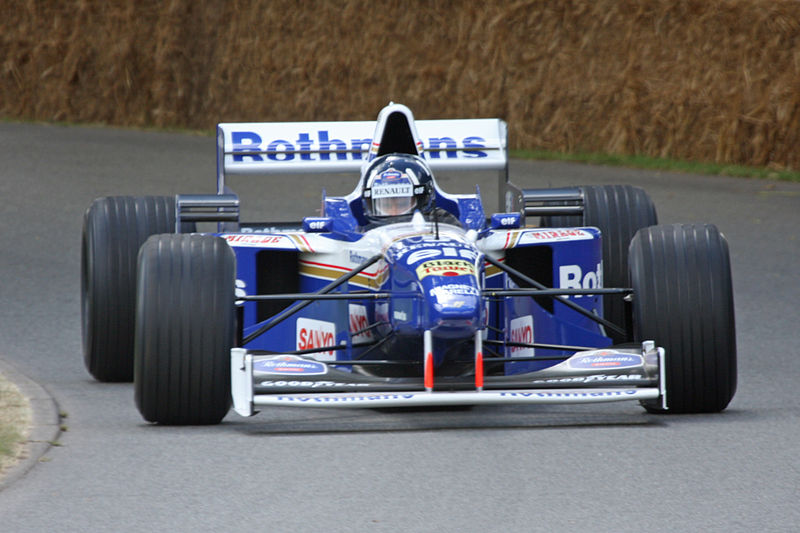 Уильямс Рено FW18, Дэймон Хилл, чемпион 1996 года