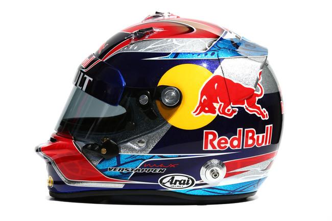 Шлем Макса Верстаппена, 2015, вид справа