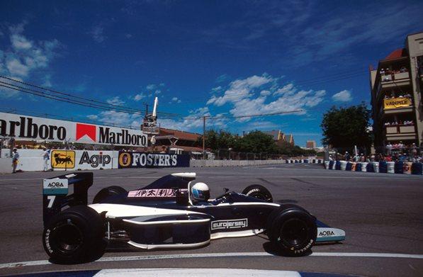 Дэвид Брэбэм (сын трёхкратного чемпиона мира Формула 1, сэра Джека Брэбэма)