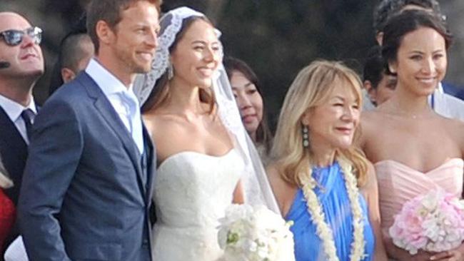 Дженсон Баттон женился на Джесика Мечибата