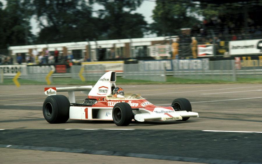 Гран-при Великобритании остановлено из-за града, Эммерсон Фиттипальди, победитель гран-при Великобритании 1975 года